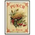Carte Postale au format 15x21cm Punch au Rhum