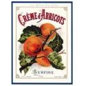 Carte Postale au format 15x21cm Crème d'Abricots