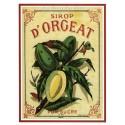 Carte Postale au format 15x21cm Sirop d'Orgeat