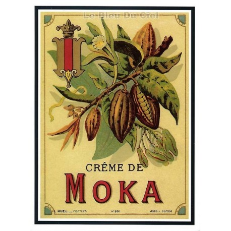 Carte Postale au format 15x21cm MOKA