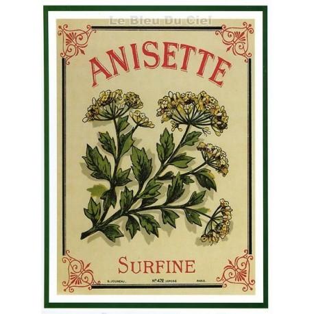 Carte Postale au format 15x21cm Anisette