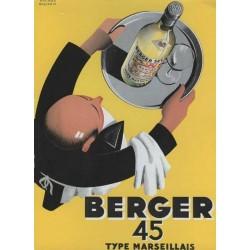 Carte Postale au format 15x21cm  Berger 45, type Marseillais