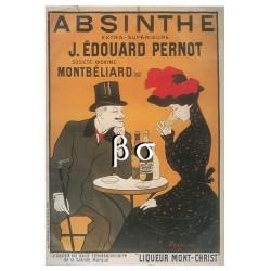 Carte Postale :  Absinthe J. Edoudard PERNOT