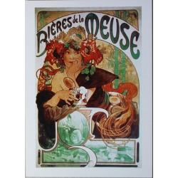 Carte Postale format 15x21cm Bières de la Meuse