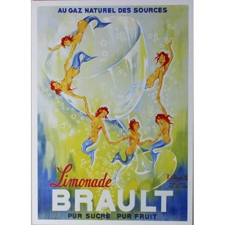 Carte Postale format 15x21cm Limonade Brault