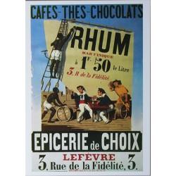 Carte Postale format 15x21cm Rhum Martinique