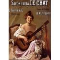 Carte Postale au format 15x21cm Savonnerie Le Chat
