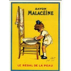 Carte Postale savon MALACEINE