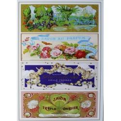 Carte Postale au format 15x21cm Savons
