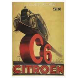 Carte Postale au format 15x21cm CITROEN C6