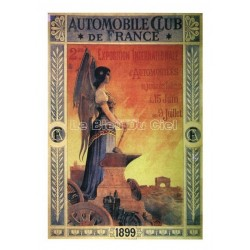 Carte Postale au format 15x21cm Automobile Club de France