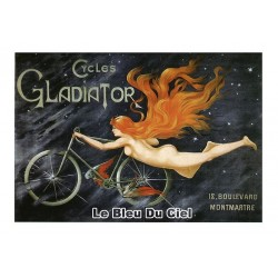Carte Postale au format 15x21cm Cycles Gladiator