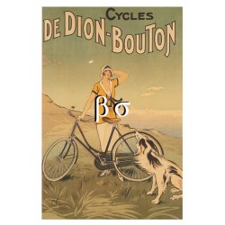 Carte Postale :  Cycles de DION-BOUTON