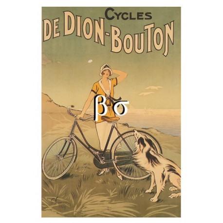 Carte Postale : Cycles de DION-BOUTON