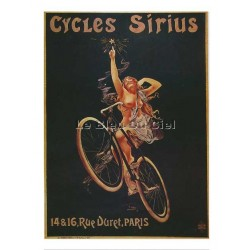 Carte Postale :  Cycles SIRIUS, Paris