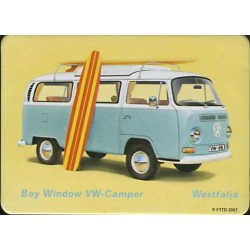 Magnet tôle, plat dimension 6x8cm Volkwagen combi