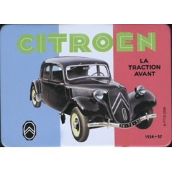Magnet tôle, plat dimension 6x8cm Traction Citroên