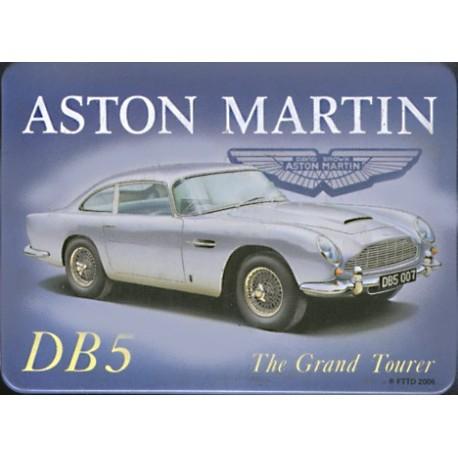 Magnet tôle, plat dimension 6x8cm Aston Martin