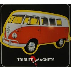 Magnet tôle, plat dimension 7x11cm Volkwagen combi