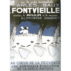 Décoration cuisine : Magnet émaillé bombé 6x8cm Fonteveille