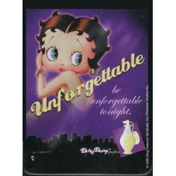 Magnet tôle, plat dimension 6x8cm : Betty boop unforgettable