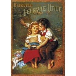 Pour votre décoration intérieure, Affiche publicitaire dim : 50x70cm  Les amoureux Lefèvre Utile