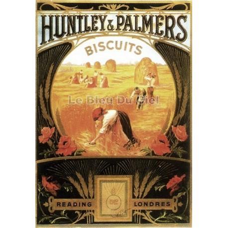 Pour votre décoration intérieure, Affiche publicitaire dim : 50x70cm : Huntley Palmers
