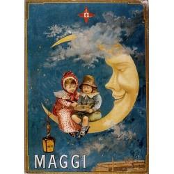 Pour votre décoration intérieure, Affiche publicitaire dim : 50x70cm : Maggi lune
