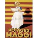 Pour votre décoration intérieure, Affiche publicitaire dim : 50x70cm Potage Maggi