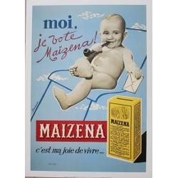 Pour votre décoration intérieure, Affiche publicitaire dim : 50x70cm  : Farine Maïzéna