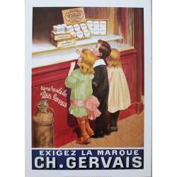 Affiche publicitaire dim : 50x70cm  : Charles Gervais