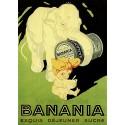 Pour votre décoration intérieure, Affiche publicitaire dim : 50x70cm Banania exquis déjeuner