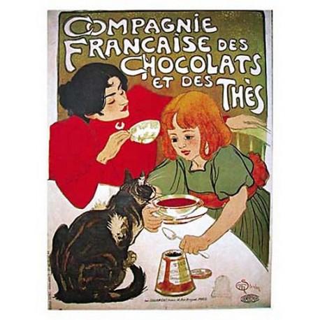 Pour votre décoration intérieure, Affiche publicitaire dim : 50x70cm Compagnie Française