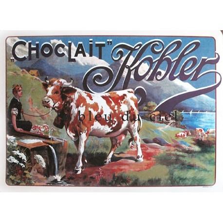 Affiche publicitaire dim : 50x70cm : Chocolat Kohler