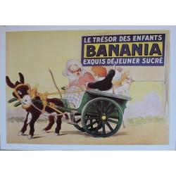 Affiche publicitaire dim : 50x70cm : Banania