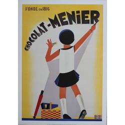 Pour votre décoration intérieure, Affiche publicitaire dim : 50x70cm : Chocolat Menier