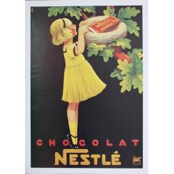Pour votre décoration intérieure, Affiche publicitaire dim : 50x70cm Chocolat Nestl