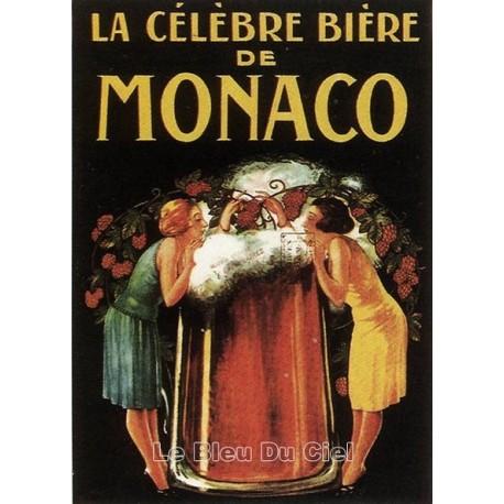 Pour votre décoration intérieure, Affiche publicitaire dim : 50x70cm : Bière de Monaco