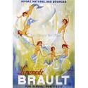 Pour votre décoration intérieure, Affiche publicitaire dim : 50x70cm Limonade Brault
