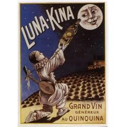 Affiche publicitaire dim : 50x70cm Vins au Quinquina