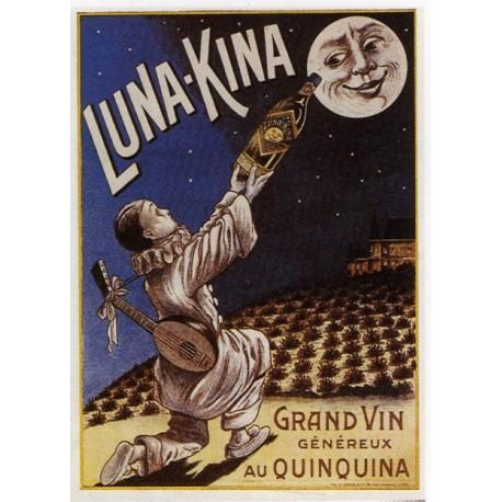 Affiche publicitaire dim : 50x70cm  : Vins au Quinquina