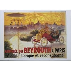 Affiche publicitaire dim : 50x70cm :  Beyrouth