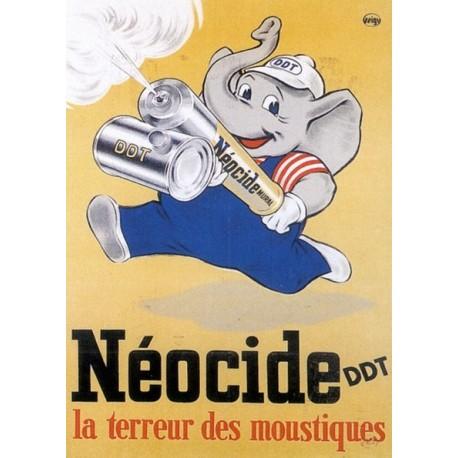 Pour votre décoration intérieure, Affiche publicitaire dim : 50x70cm : Néocide DTT