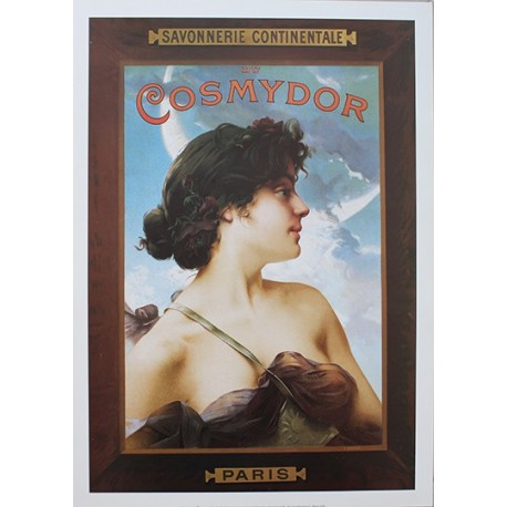 Pour votre décoration intérieure, Affiche publicitaire dim : 50x70cm  : Savon Cosmydor