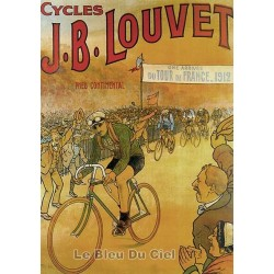 Pour votre décoration intérieure, Affiche publicitaire dim : 50x70cm Cycles J.B Louvet