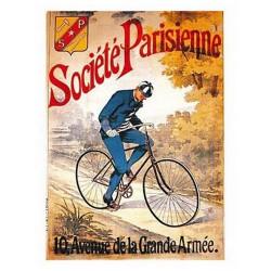 Pour votre décoration intérieure, Affiche publicitaire dim : 50x70cm Cycles Société Parisienne
