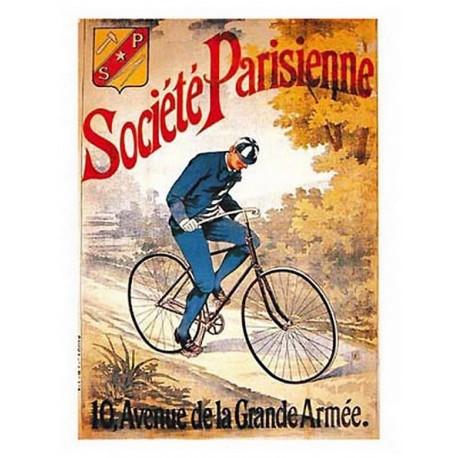 Pour votre décoration intérieure, Affiche publicitaire dim : 50x70cm : Cycles Société Parisienne
