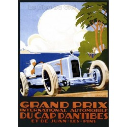 Pour votre décoration intérieure, Affiche publicitaire dim : 50x70cm Grand prix Cap d'Antibes