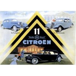 Pour votre décoration intérieure, Affiche publicitaire dim : 50x70cm : Traction Citroën