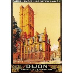 Pour votre décoration intérieure, Affiche publicitaire dim : 50x70cm Dijon